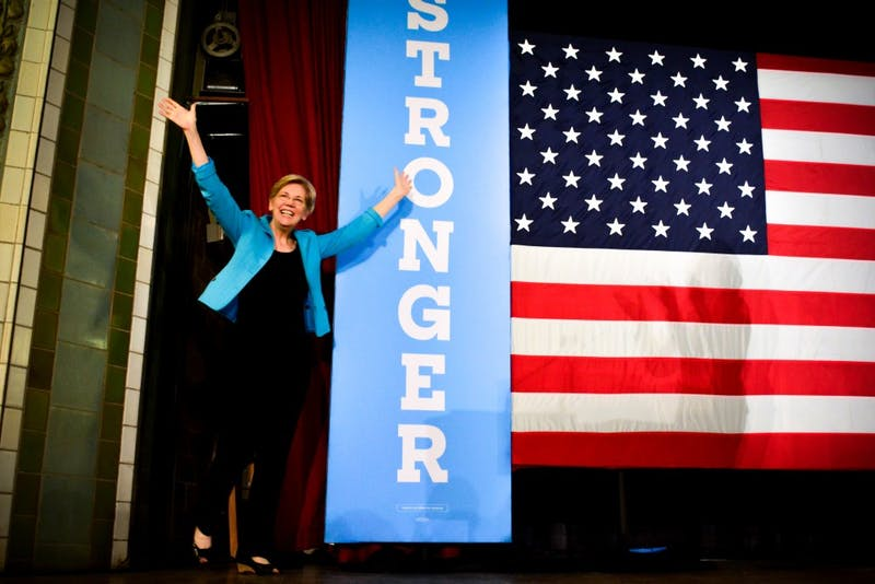Photo gallery: Elizabeth Warren campaigns for Clinton and Katie McGinty