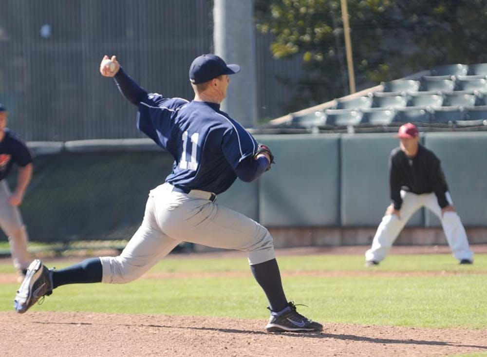 Baseball takes on Temple in an exhibition tripleheader during the off season.