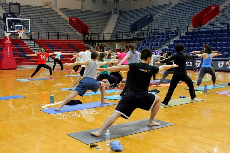 A Recap In Photos: Community Yoga-thon