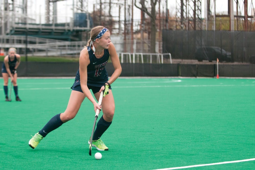 Penn Field Hockey Drops Ivy League Title Game To Princeton The