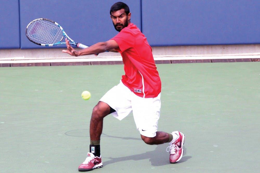 140407 University of Pennsylvania - Men's Tennis vs Columbia
