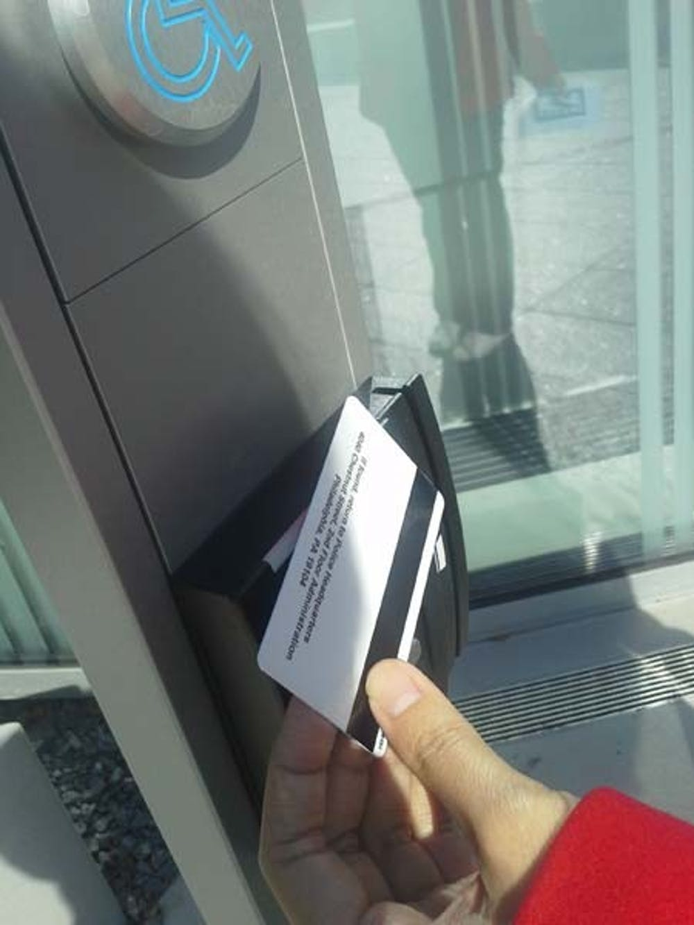 The contactless PennCard system is being implemented at the Singh Center for Nanotechnology.