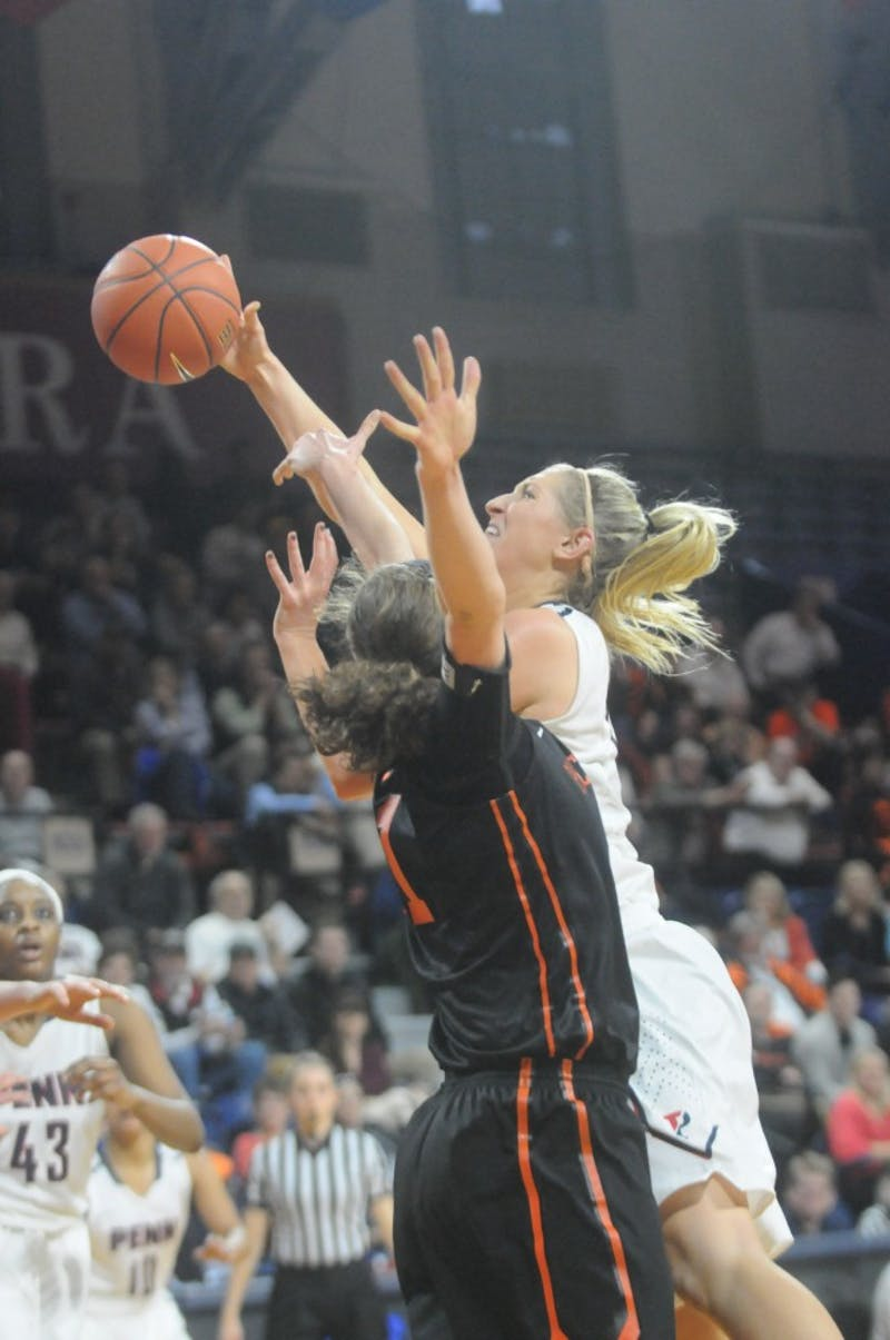 A recap in photos: Women's basketball falls to Princeton in season finale