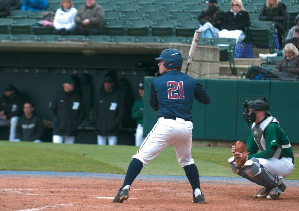 Freshman Matt O'Neill's solo home run tied Penn baseball with Villanova, 1-1, but eight runs in the last two innings for the Wildcats sealed the Quakers' fate.