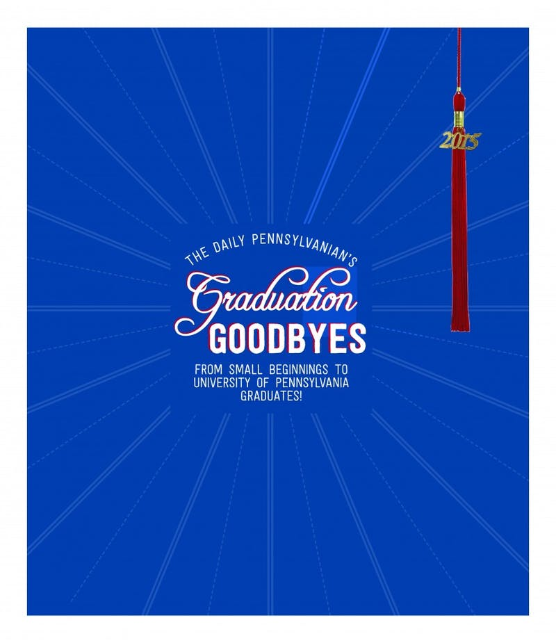 2015 Graduation Goodbyes Sample Pages