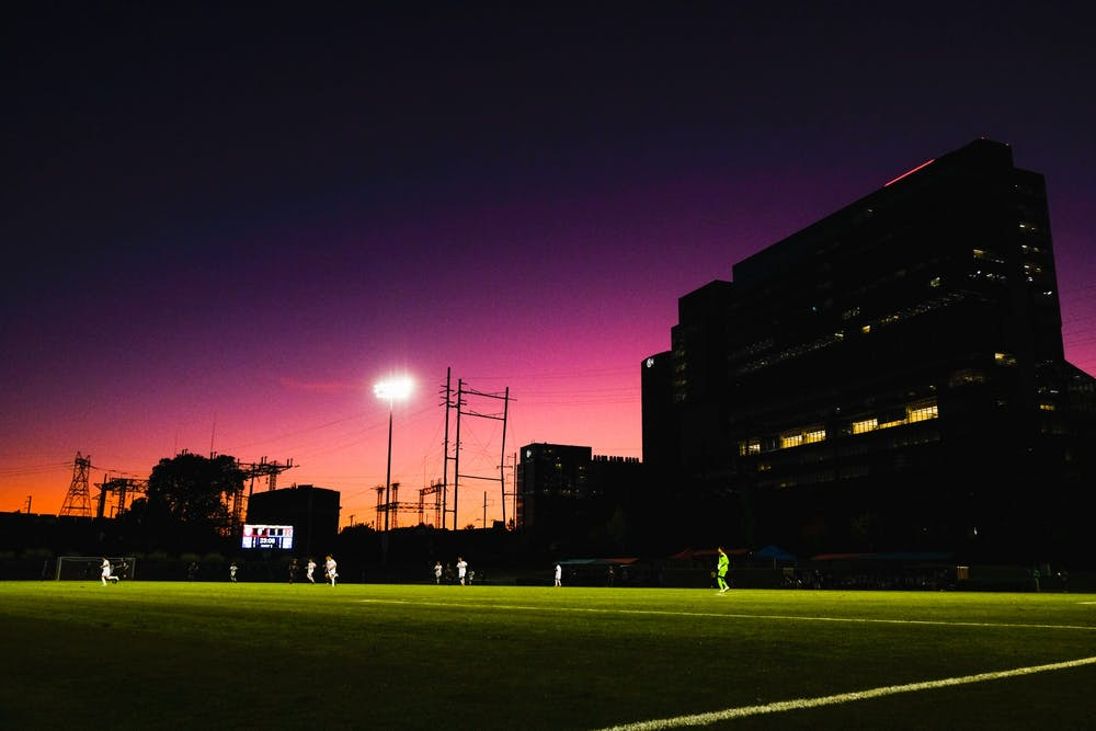 rhodes-soccer-field-night-time-sunset-purple-sky