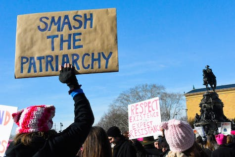Signs and scenes from the Women's March on Philadelphia