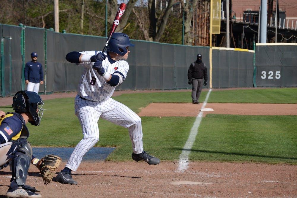 4-4-21-baseball-vs-la-salle-wyatt-henseler-nicholas-fernandez