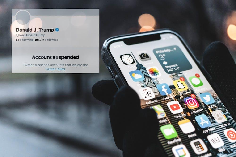 iphone-app-social-media-president-donald-trump-account-suspension