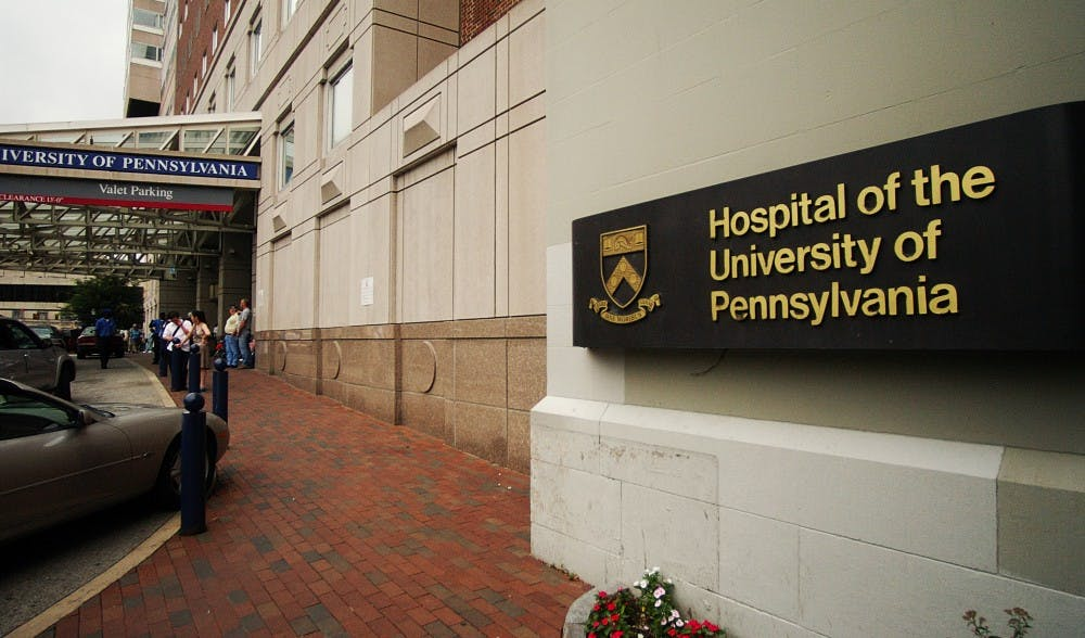 The Hospital of the university of Pennsylvania.