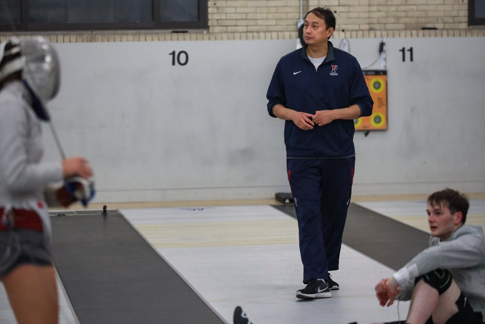 How Michael Li went from imitating Captain Jack Sparrow to leading Penn fencing