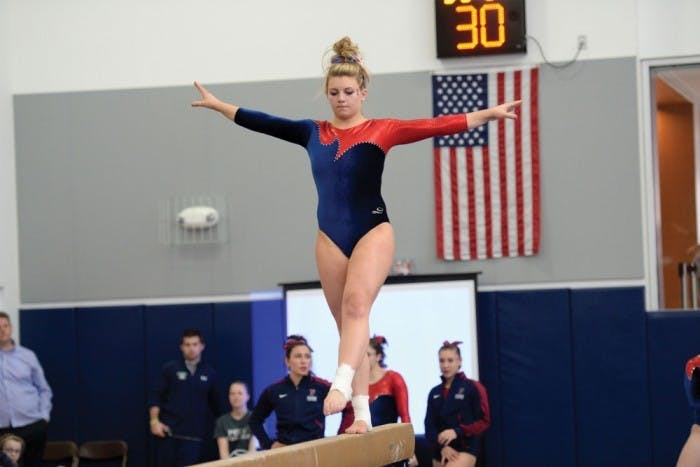 AllyPodsednikGymnastics