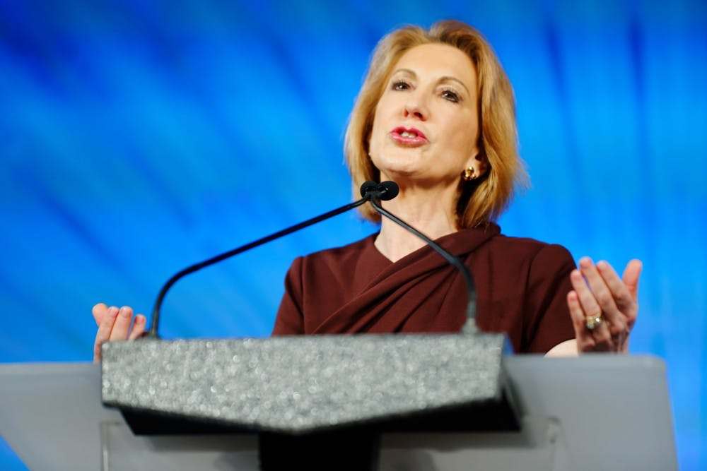Conference to bring Carly Fiorina to Irvine | The Daily Pennsylvanian