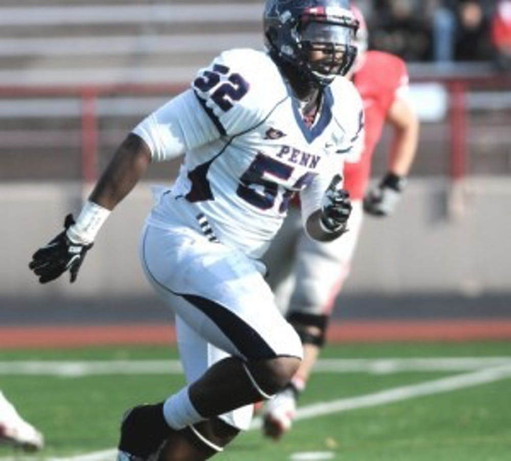 Former Penn captain Brandon Copeland will fight for a roster spot with the Tennessee Titans in a preseason game on Aug. 28.