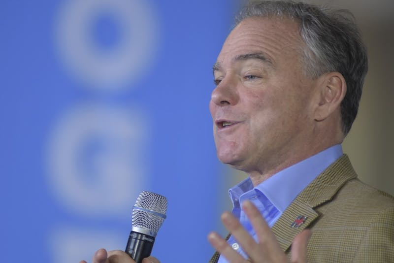 Photo Gallery | Time Kaine Visits South Philly