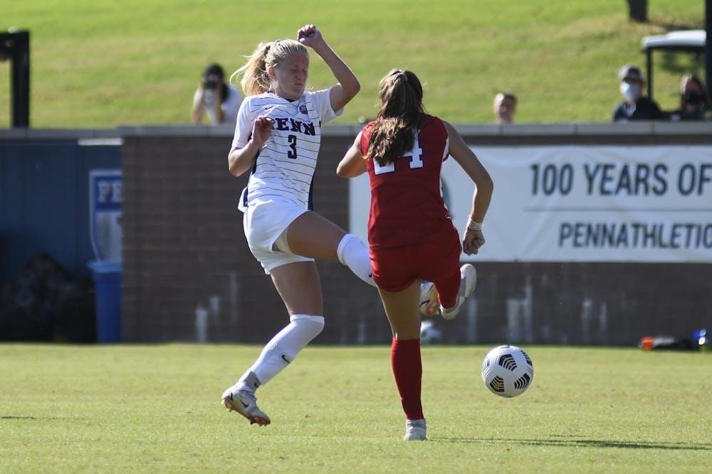 10-2-2021-womens-soccer-versus-cornell-lauren-teuschl-carol-gao
