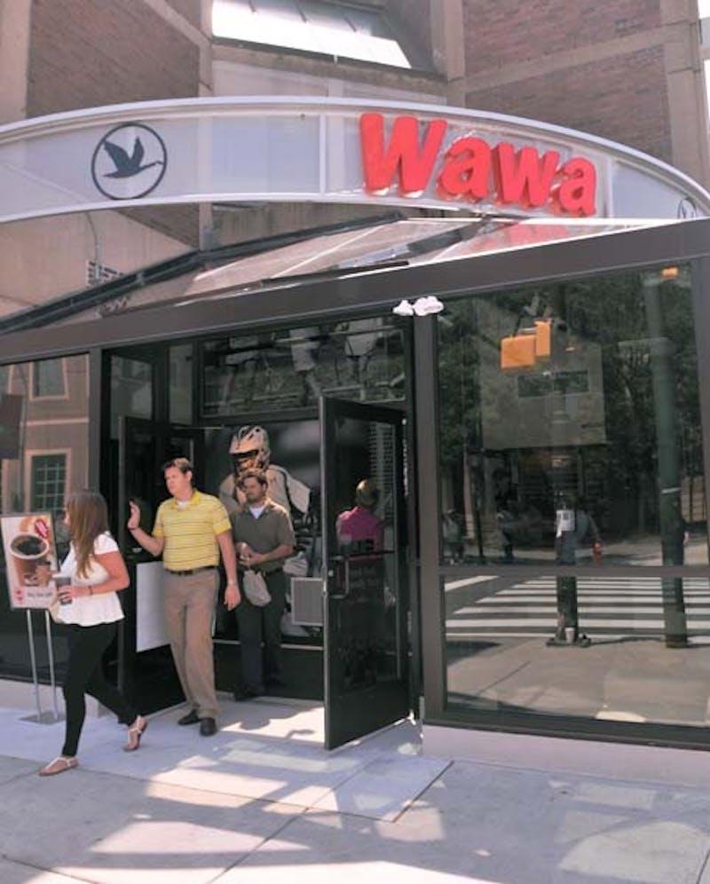 Spruce street Wawa grand opening