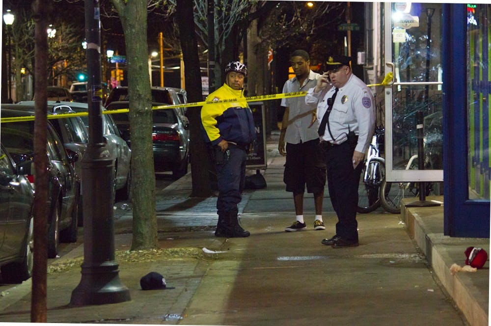 Police stood outside Copabanana minutes after a shooting last Aprilthat left a 31-year-old man dead.