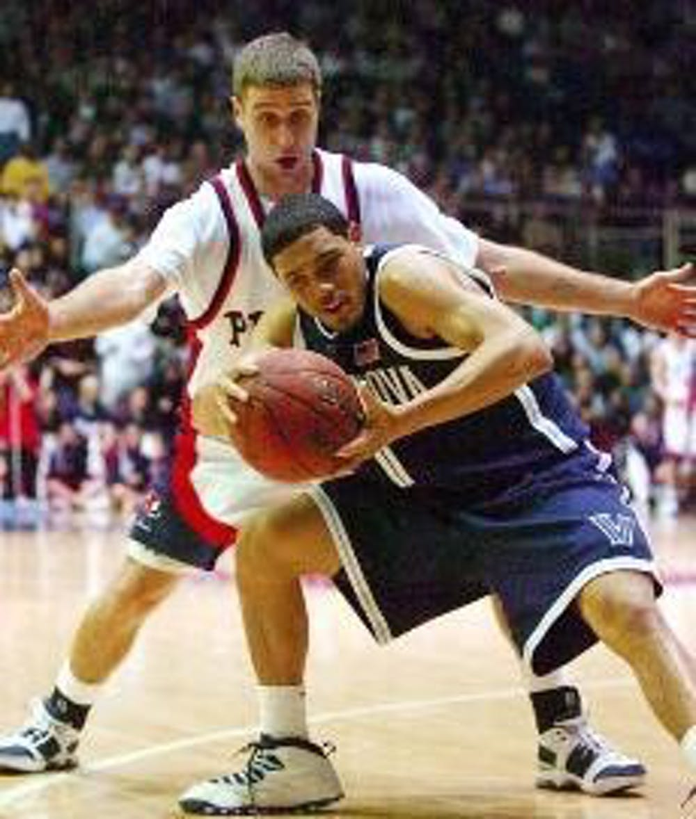 Then-freshman guard Scottie Reynolds came up clutch for Villanova in the 2006 edition of Penn-Villanova, hitting a late three that put the Wildcats on the path to victory.