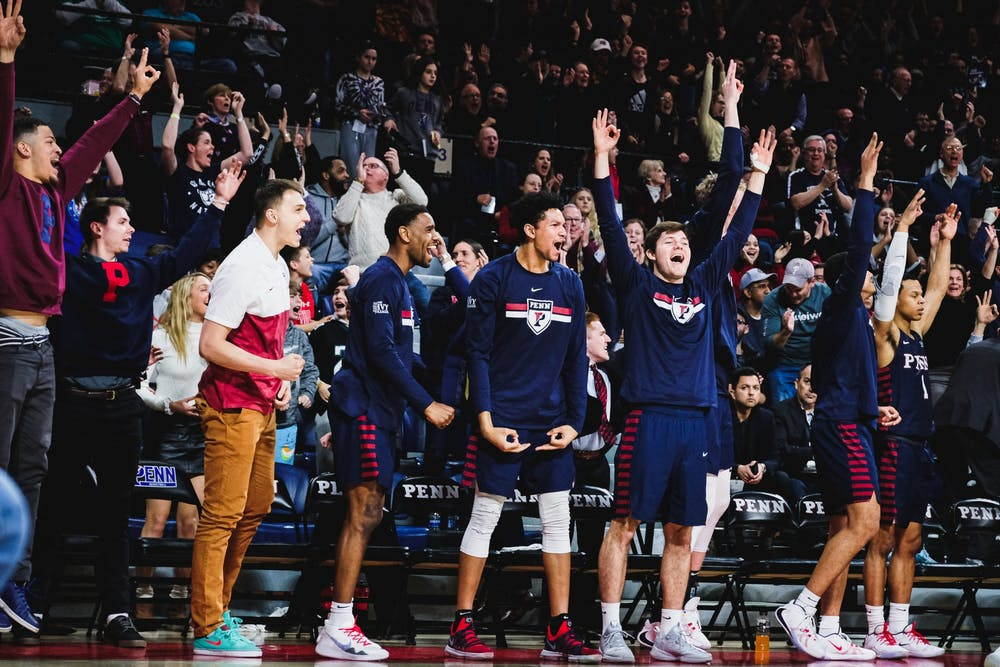 mbb-vs-yale-bench-celebration