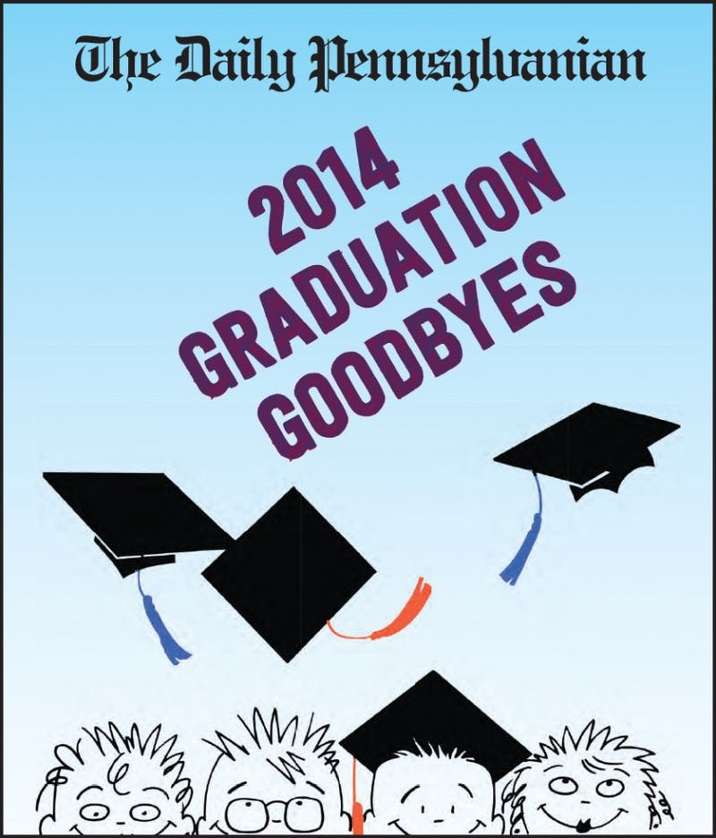 2014 Graduation Goodbyes Sample Pages