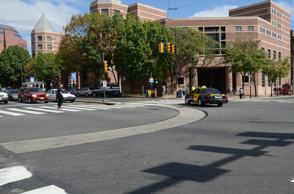 The intersection at 38th and Spruce streets, which has seen seven accidents since the beginning of 2013, has been criticized for a lack of precautions that ensure the safety of pedestrians, bicyclists and motor vehicles at the intersection.