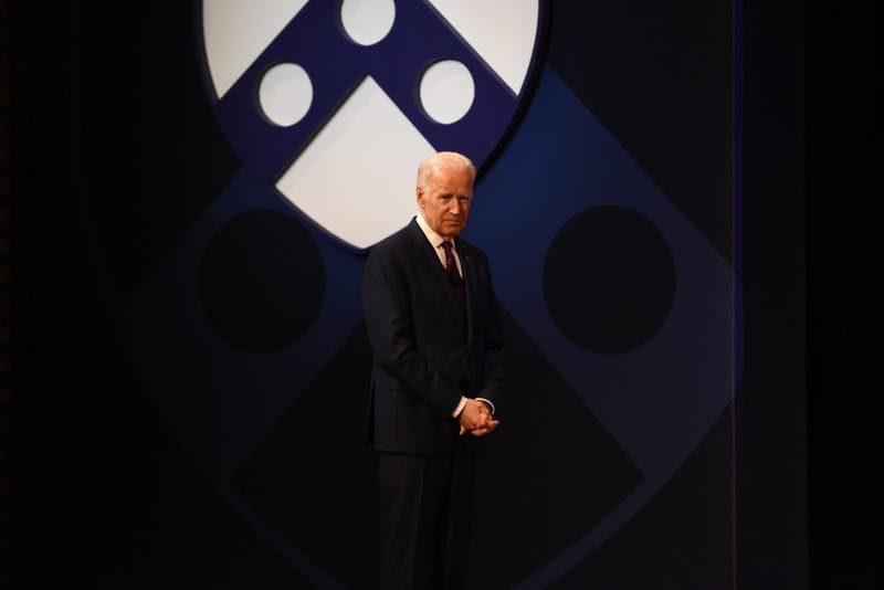 Biden visits Penn