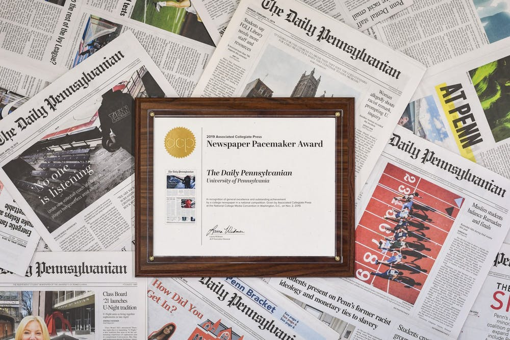 the-daily-pennsylvanian-2019-newspaper-pacemaker-award