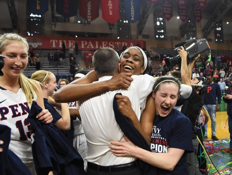 Penn women's basketball wins the Ivy tournament