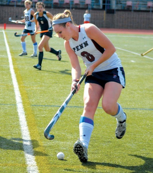 Junior attack Emily Corcoran has been a revelation for Penn, ranking second on the team with 32 points in 13 games.