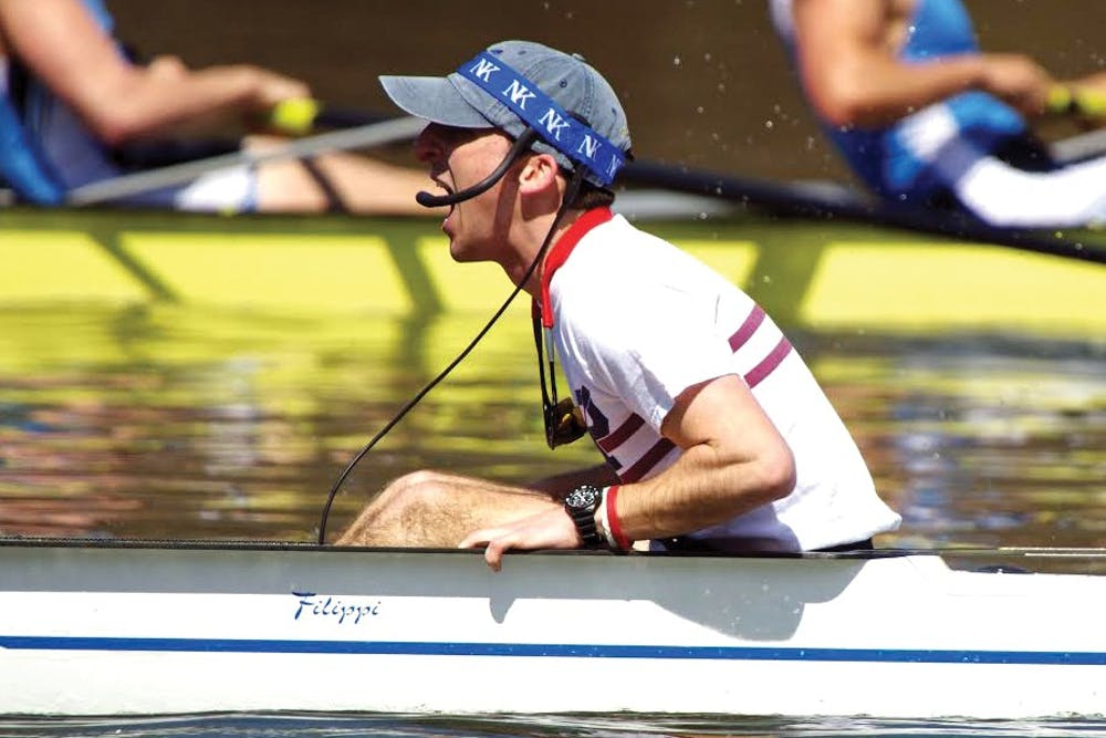 A look at the life of Penn rowing's coxswain | The Daily Pennsylvanian