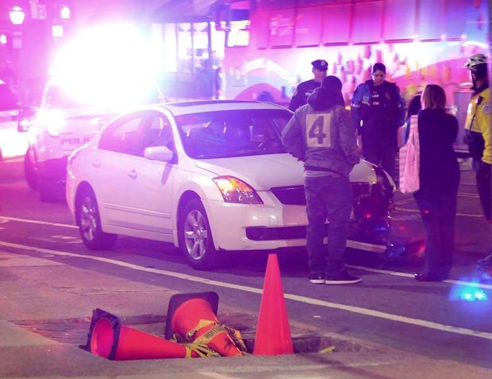 38th and Spruce Car Crash