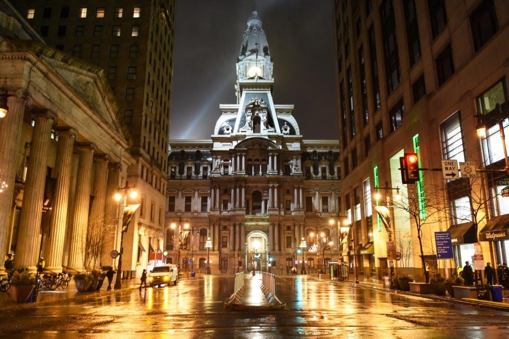 philadelphia-city-hall-night