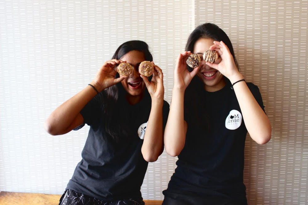 NOMsense Bakery was founded in 2014 by Wharton senior Roopa Shankar and College senior Alina Wong. The duo look to expand their operations after graduation this spring. | Courtesy of Stephanie Loo.