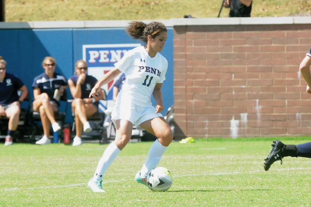 Sophomore forward Farah Otero-Amad netted her first collegiate goal one minute after tallying her first as assist on Sunday.