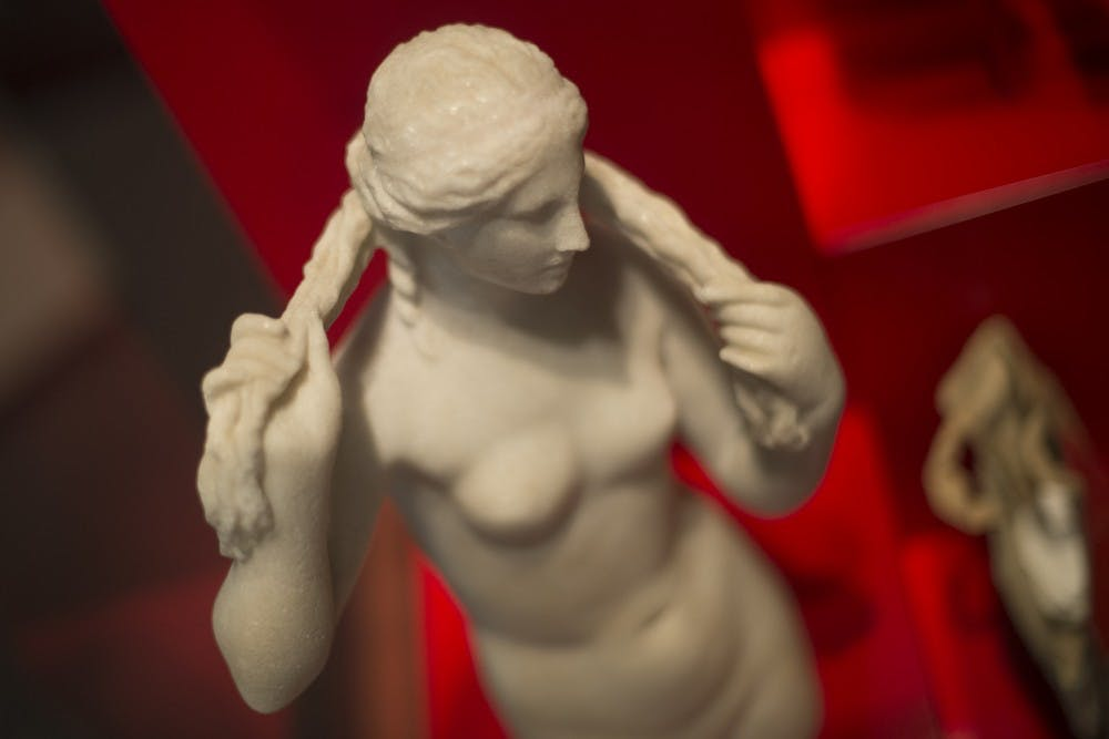 Benghazi Venus, the ancient Greek goddess of sexuality, beauty, and love, is one of the 30 relics currently on display at the Penn Museum.