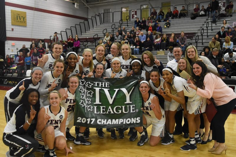 Women's basketball beats Harvard to clinch Ivy Title