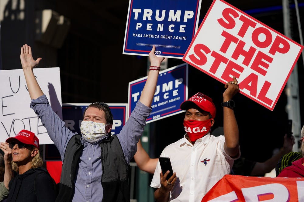 election-week-protests-trump-supporters-stop-the-steal-pennsylvania-convention-center-november-6-2020