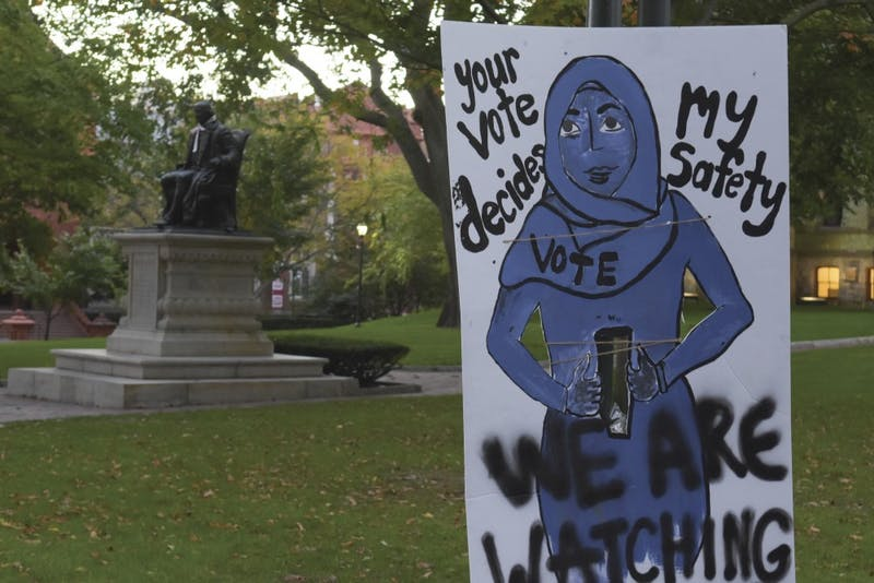 "Photo Gallery | ""We Are Watching"": Anti-Trump Signs"