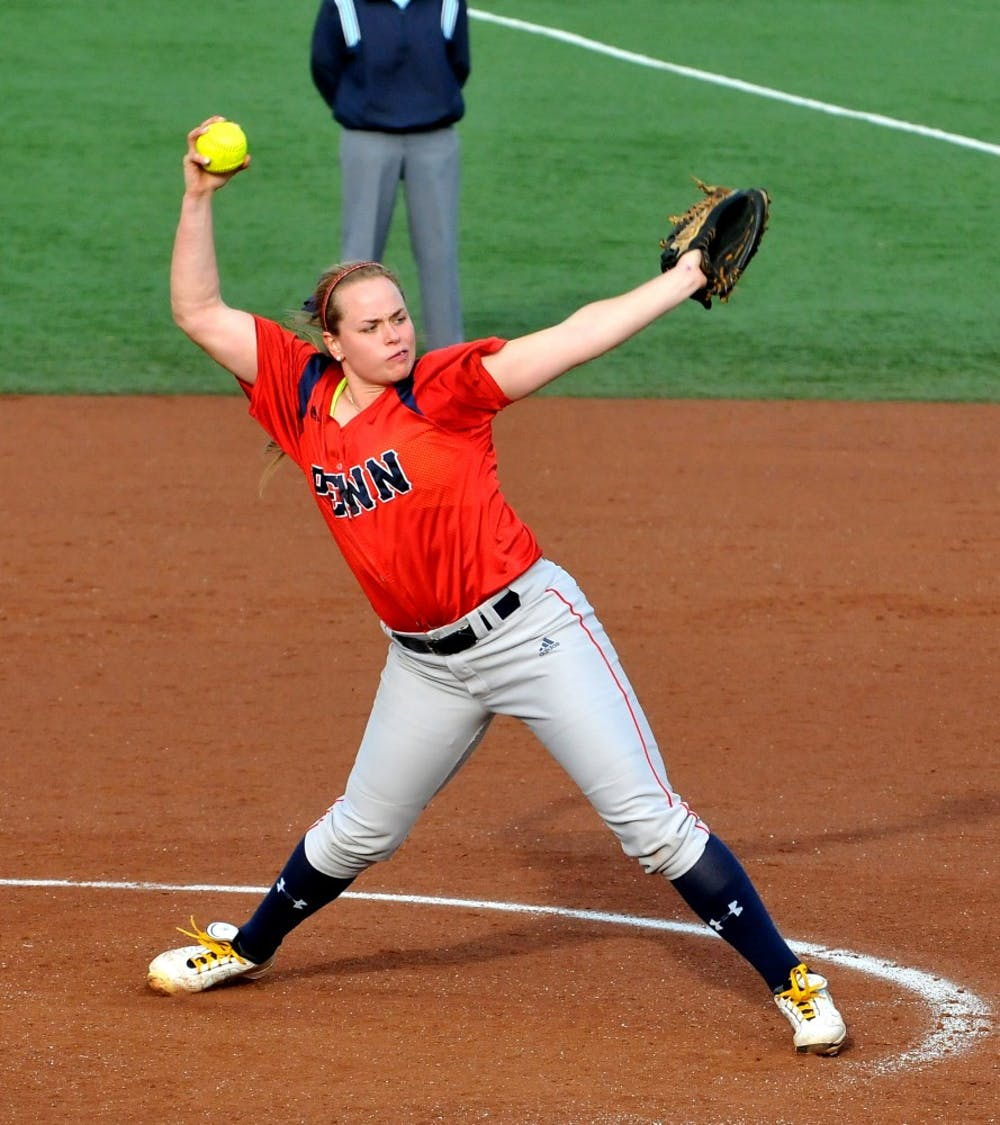 Softball beats Temple in overtime, 4-3.