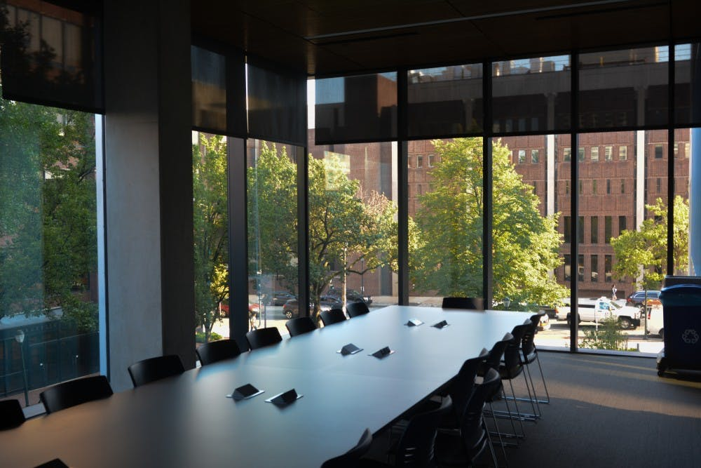 A look inside the new Perelman Center for Political Science and Economics
