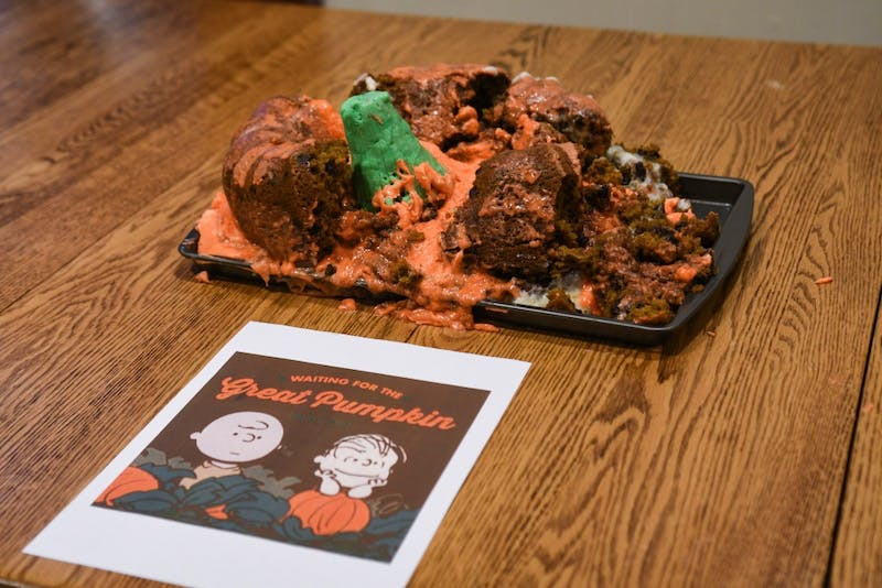 Photo Gallery   Annual Edible Books Contest honors Blaze Bernstein for second year