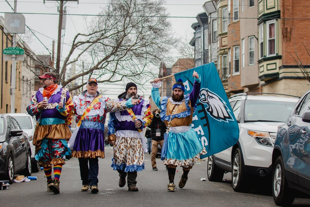 In Photos: Mummers strut into 2021 with celebratory South Phila. march, defying city orders
