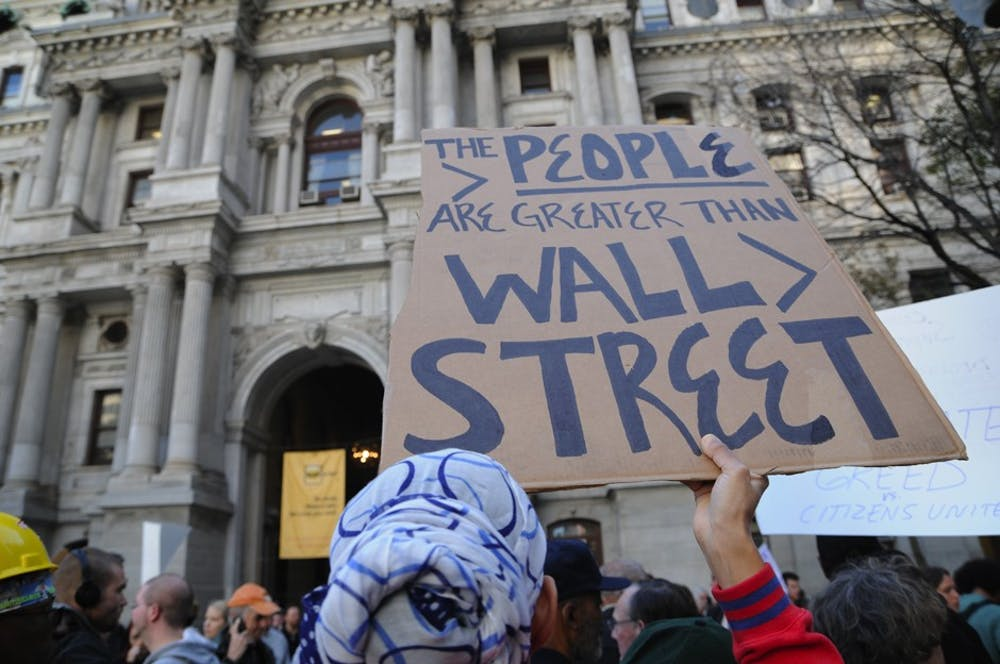 The Occupy Philadelphia protest kicked off Thursday morning at City Hall.
