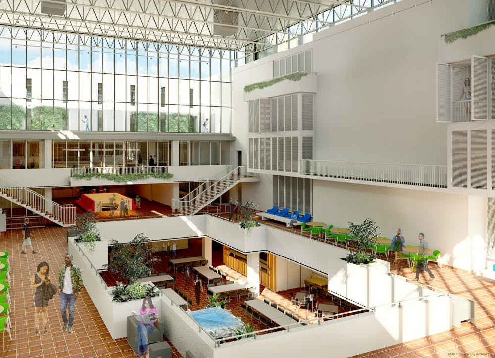 Hill_college_house_rendering_atrium_msa