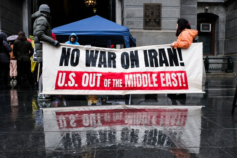 Photo Essay | Philadelphians join global protest to oppose war with Iran