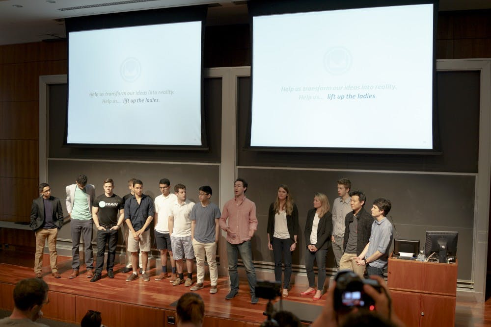 Demo Days is one of WeissLabs' largest entrepreneurship events of the year, where several startup companies such asEmery & Elizabeth presented pitches forfeedback. |Courtesy of Duong Nguyen