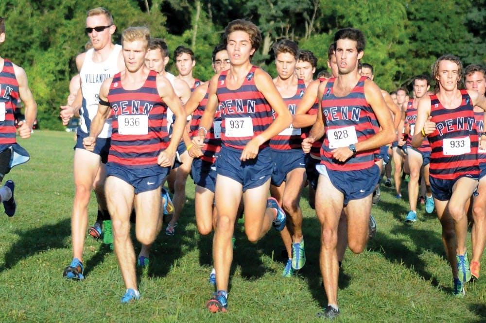 Big 5 Cross Country Meet.  Penn dominated
