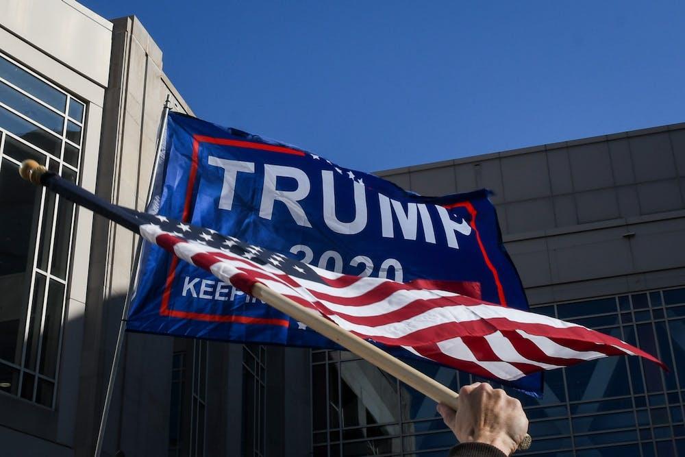 trump-2020-american-flag-pennsylvania-convention-center
