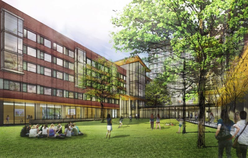 Students Worry That A New Dorm On High Rise Field Will
